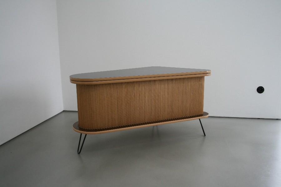 50er hausbar tischbar barschrank sideboard mid century modern 50s design. Black Bedroom Furniture Sets. Home Design Ideas