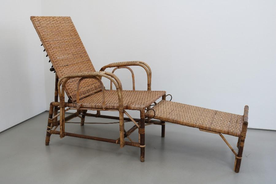 Bauhaus Gartenliege Korbsessel Rattanliege Dieckmann Ara Rattan Sessel 30er Ebay